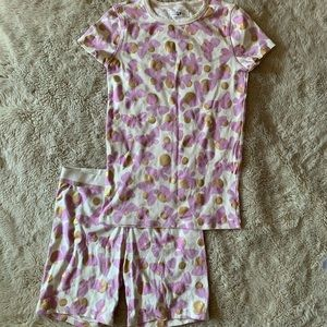 Girls crewcuts two piece pajama set